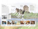 Drawing of the castle of Eilean Donan - EOSGIS Cartografia Magazine