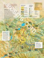 Map of the mine of las Medulas - EOSGIS Cartografia Magazine